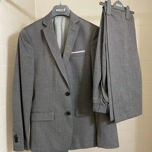 Grey suit w/ dress pants